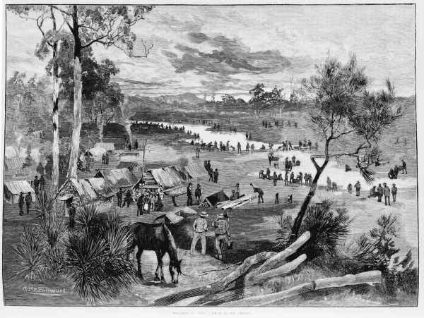 Ballarat diggings ,1851