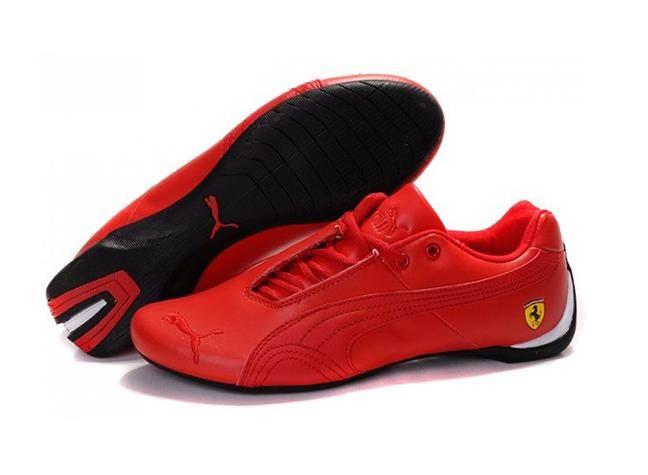 Гоночные кроссовки puma ferrari красные