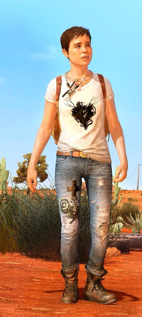 Jodie Holmes - the main character of Beyond: Two Souls, the person you're going to be seeing the most of.
