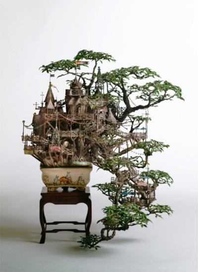 Tree House in Bonsai