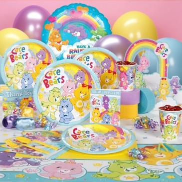 Care Bears Happy Days birthday party deluxe party pack