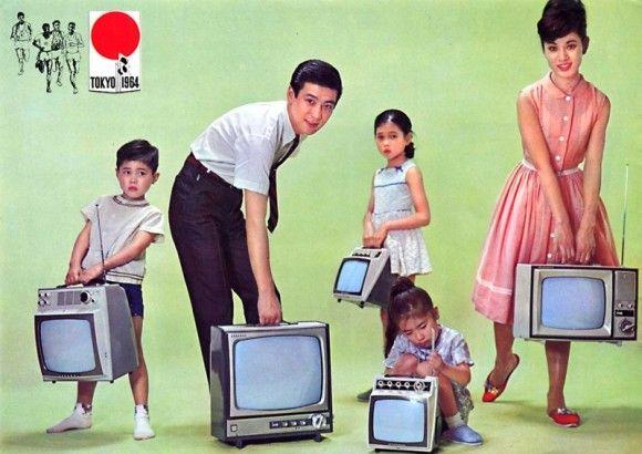 高度成長期からバブルまで。レトロ懐かしい昭和の車・家電広告ポスター : カラパイア
