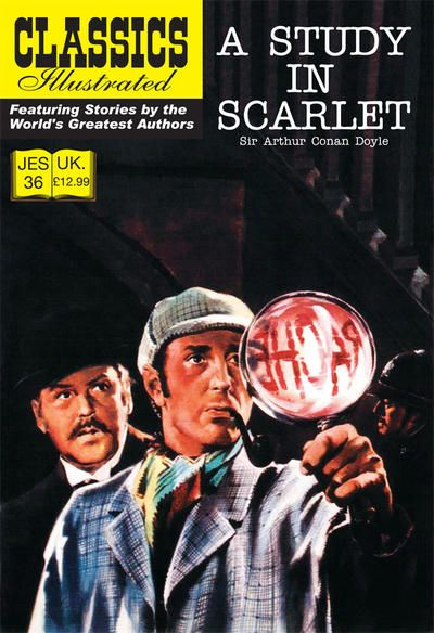 Cover for Classics Illustrated (JES) (Classic Comic Store, 2008 series) #36 - A Study in Scarlet