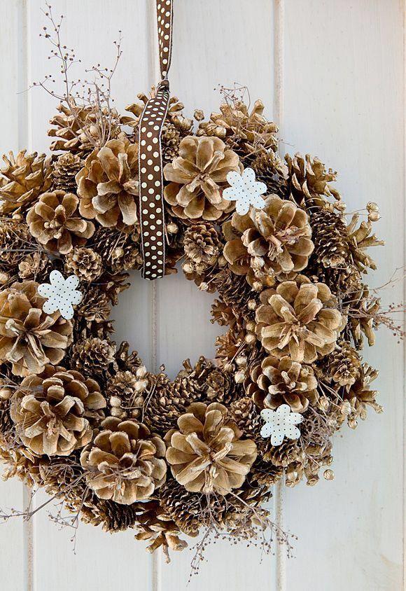 Comfortable home door wreath