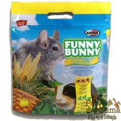 RAÇÃP FUNNY BUNNY CHINCHILA 700GRS por R$8,90.  Funny Bunny Chinchila é um delicioso alimento feito especialmente para Chinchilas de estimação, Porquinhos da Índia e outros pequenos roedores.  Acessem: http://www.petstima.com.br/product_info.php?products_id=11963.    Att.,  PetStima    Visitem: www.petstima.com.br