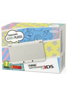 Nintendo The New Nintendo 3DS Console - White on Nintendo **Please note - this console DOES NOT include a PSU/Mains Charger. Sold SeperatelyIntroducing the new Nintendo 3DSDiscover the possibilities of 3D gaming with the new Nintendo 3DS featuring improved 3 http://www.MightGet.com/february-2017-1/nintendo-the-new-nintendo-3ds-console--white-on-nintendo.asp