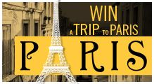 Win a trip to Paris with Linen chest