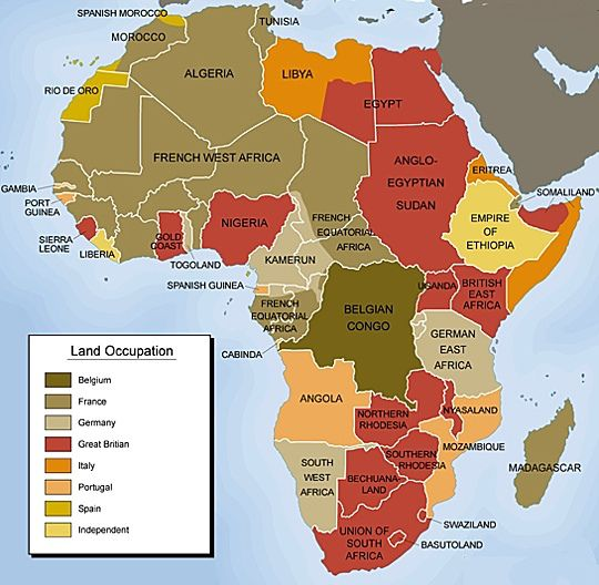 Africa's colonization by other major powers of the world at the tail end of the 19th century spelled doom and division for the mighty continent. It wasn't until 1950 that Africa would begin the tough process of gaining much of its independence from Western Europeans. in 1884, the Berlin Conference began the process of dividing Africa and its rich resources.