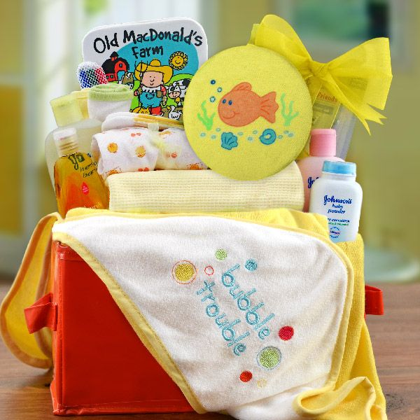 154 best baby gift baskets for girls images on pinterest baby every new mom and dad will find this gift basket full of baby bath essentials very helpful and useful in keeping their new baby clean and happy negle Gallery