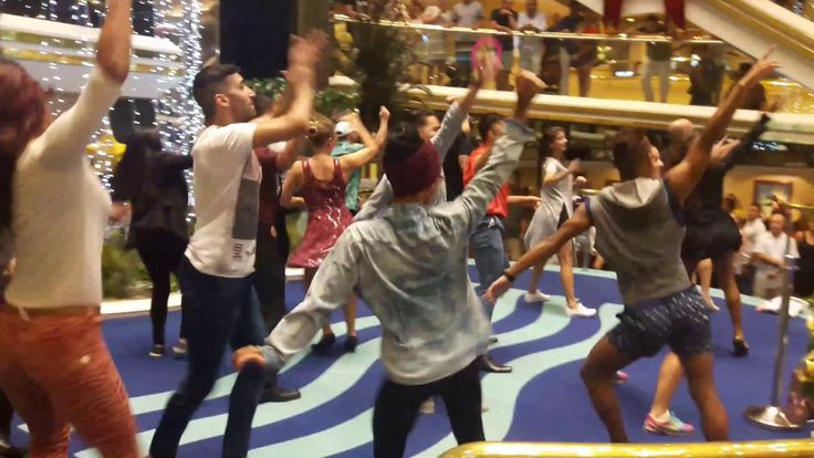 Flashmob en Crucero Pullmantur - 05.01.2017