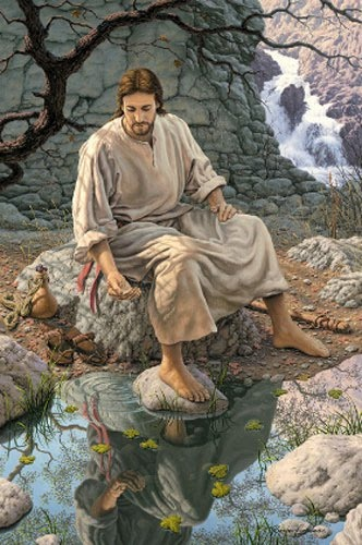 JESUS, LIVING WATER...