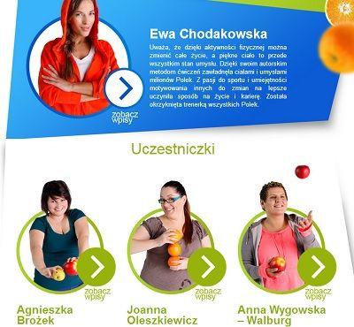 """Obecnie Ewa Chodakowska jest ,,wszędzie"""":  W Dzień Dobry TVN z programami treningowymi oraz własnym programem EWOlucja: """"""""Bądź co dzień lepszą wersją wczorajszej siebie"""" - kierując się tym mottem trzy kobiety podejmą próbę całkowitej zmiany swojego życia. Pod czujnym okiem trenerki wszystkich Polek, Ewy Chodakowskiej będą walczyć o piękną i zdrową siebie."""""""