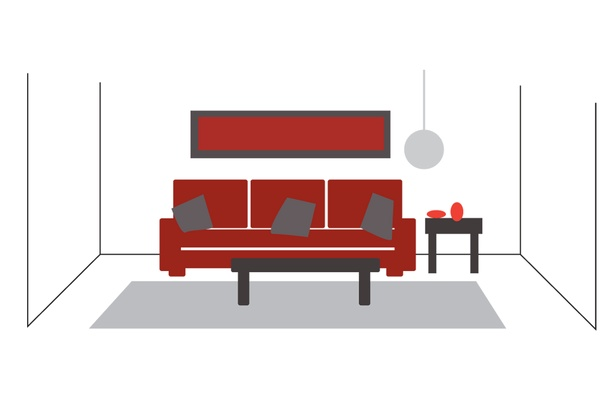 how to arrange furniture in a rectangular living room the o 39 jays