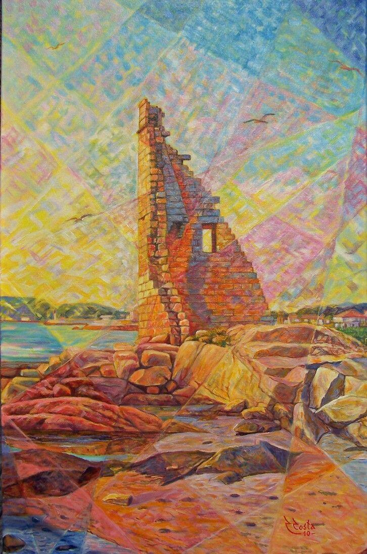 """Torre S. Saturnino IV""/Acrílico"