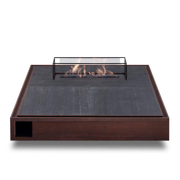 PYRA low table with fireplace Furniture vendor in china email:derek@wonderwo.com. Web:www.wonderwo.cc