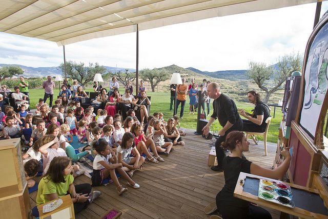 Teatro infantil: Madera y sol | Flickr: Intercambio de fotos