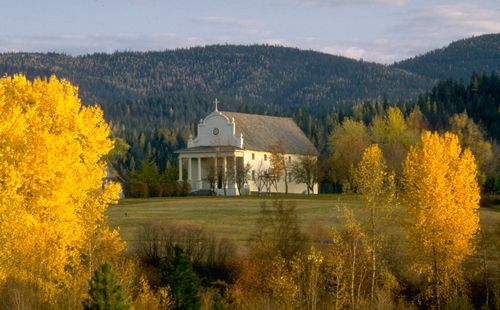 Coeur d' Alene's Old Mission | Idaho Parks & Recreation | Stop by on your way from Kellogg to Coeur d'Alene