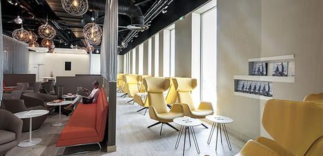 Salon VIP The Levity Lounge Terminal 2 salle B