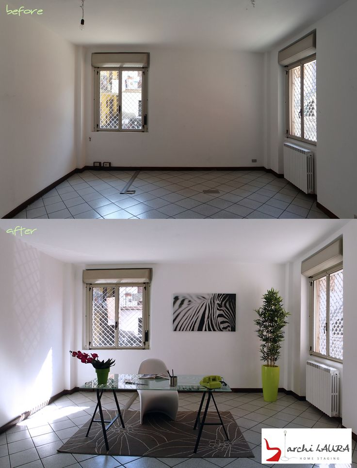 OFFICE STAGING - archiLAURA Home Staging