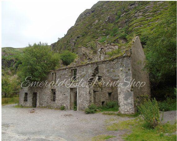 Old Stone House In Gap of Dunloe. by EmeraldIslePrintShop on Etsy