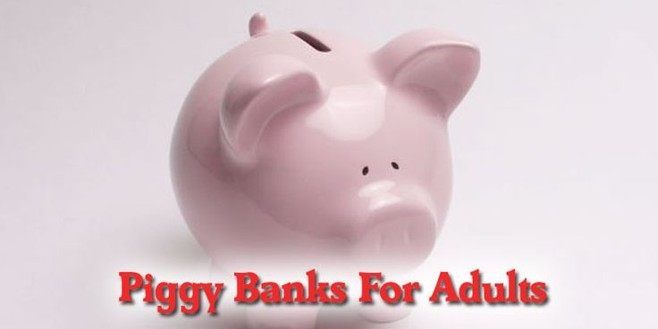 1000 Images About Piggy Banks For Adults On Pinterest