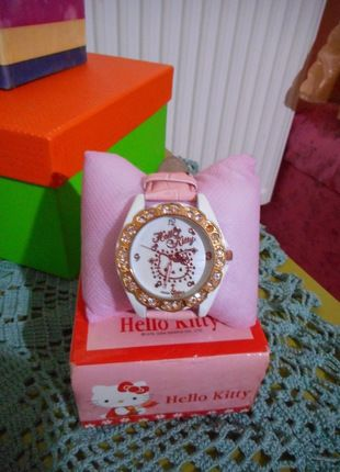 Kup mój przedmiot na #vintedpl http://www.vinted.pl/akcesoria/bizuteria/10663988-boski-zegarek-od-hello-kitty