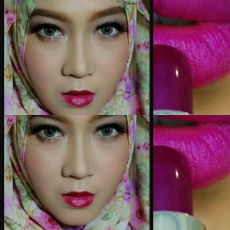 Lipstick warna anggur, la tulipe mat lipstick 214 aster