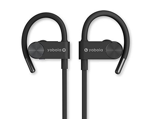 Bluetooth Headphones, Wireless In Ear Sports Earbuds Sweatproof Earphones Noise Cancelling Headset with Mic, 7 Hours Play Time