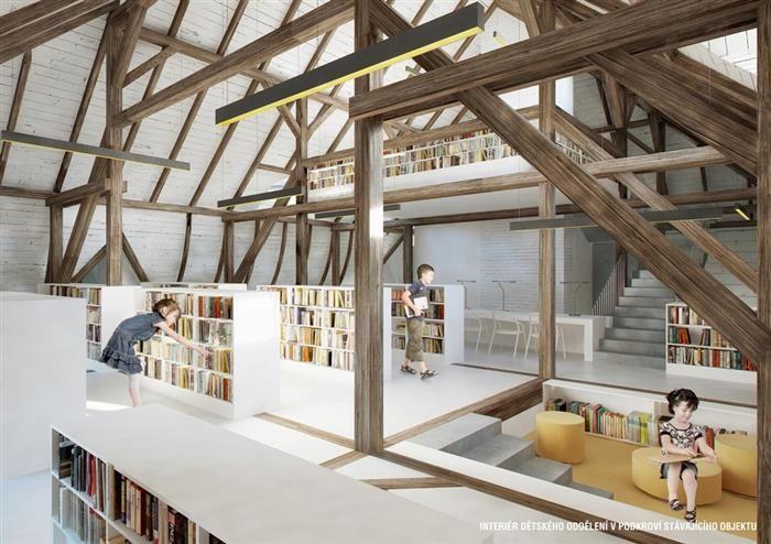 Cheb - plány na přístavbu knihovny6