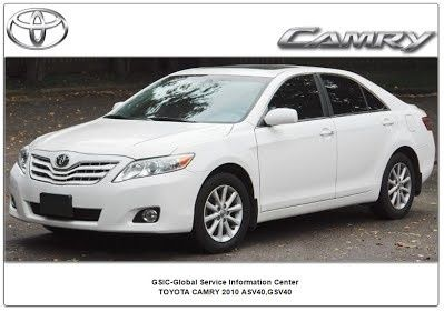 Toyota Camry 2010 GSIC ASV40,GSV40 Workshop Manual
