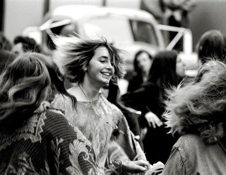 fotografias movimiento hippie mujeres