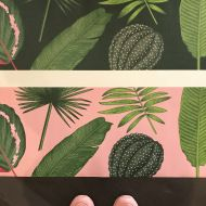 Foliage wallpaper samples    www.handmadebyme.co.za