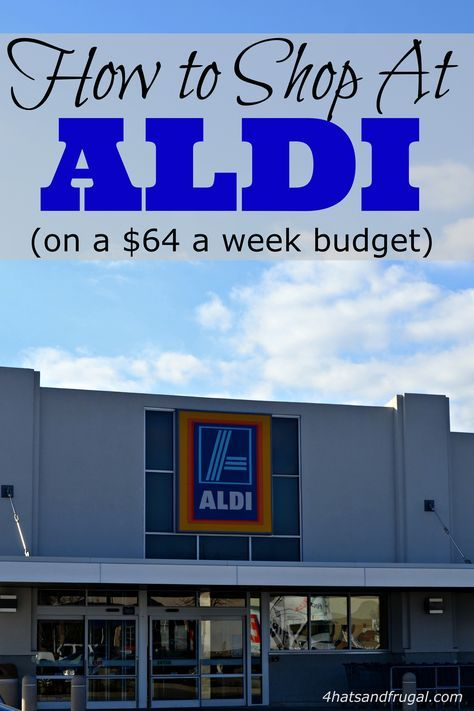 See how this mom uses her 64 dollar grocery budget at Aldi, and turns her groceries into 20 meals for the week!