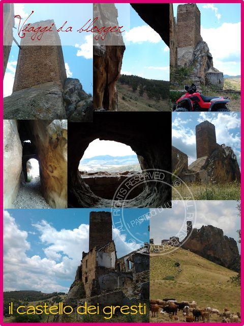 Castello dei gresti o di Pietratagliata - Sicilia prov. Enna #ilovesicily #travel