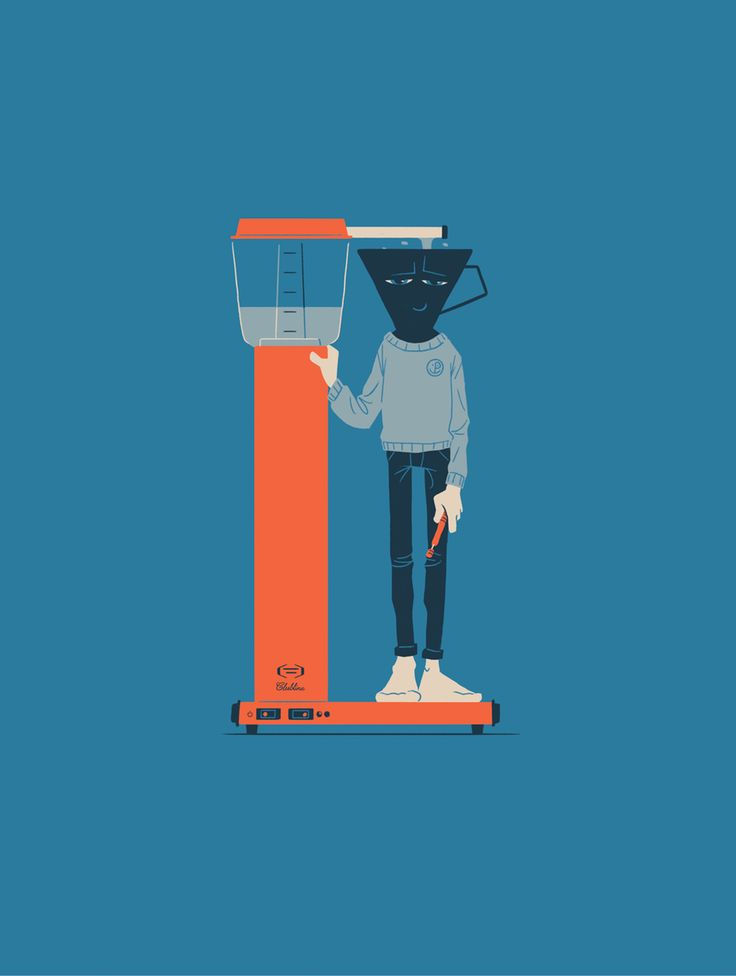 Coffee guy (choose between 3 different prints) via Brenneriveien. Click on the image to see more!