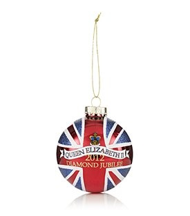 Harrods Jubilee baubles could be attached to the bunting to create a more modernised and different approach to a street party.