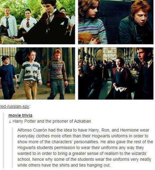 Prisoner of Azaban was like my fav movie cos Harry's hair was FLAWLESS and book accurate for once