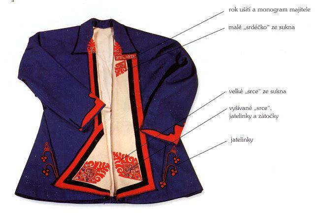 FolkCostume&Embroidery: Men's costume of Velká nad Veličkou, Horňácko, Slovácko, Moravia