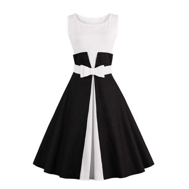 "Vestido Olddnew ""1950"" (Também disponível ""Plus Size"")"