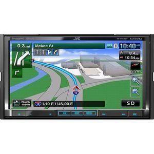 Jvc Kwnt810hdt Car Stereo 7inch Navigation Bluetooth Hd Radio
