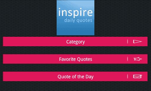 ---------------------------- Optimized for Tablet and Phone -------------------------------5/5 Apprate.com Great app! One that must have in your pocket, totally inspiring5/5 Appgeyser.com This app has been favorites here, daily digest of quotes really awesome!5/5 techapp.com You don't need other app if you have this app! Really rocks5/5 ratemyapp.com Inspiring, daily motivation! just what I need!Daily quotes is a quotation application with more than 10000 quotes ab...