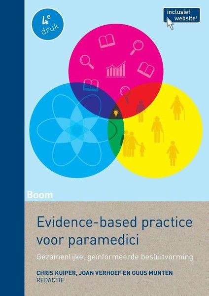 Kuiper, Chris. Evidence-based voor paramedici: gezamenlijke geïnformeerde besluitvorming. Plaats VESA 610.9 KUIP