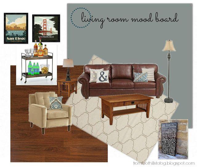 73 Best Living Room Mood Boards Images On Pinterest
