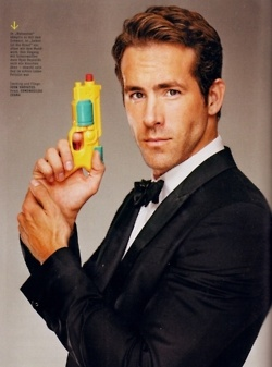 Ryan Reynolds- I'm waiting for 'Naked Gun' 55 & 1/5 or something- it would be amazing;)