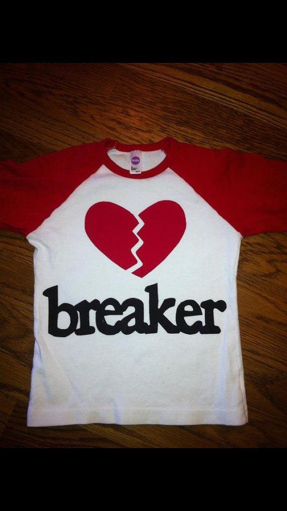 Valentine's Shirt for Boy or Girls - Heart Breaker Shirt