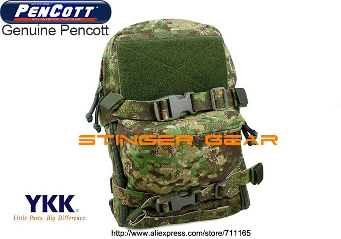TMC Mini Hydration tactical pouch MOLLE PenCott GreenZone JPC Hydration Pack+Free shipping(SKU12050219) #Affiliate