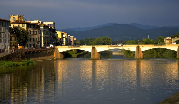 Florence has so many beautiful bridges it's hard to pick just one.