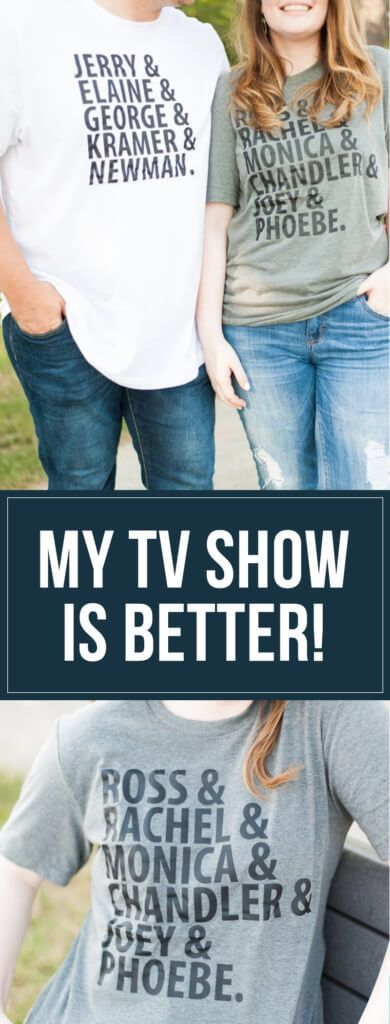 My TV Show is Better Than Yours: Friends vs. Seinfeld Quote off! www.ourmessytable.com