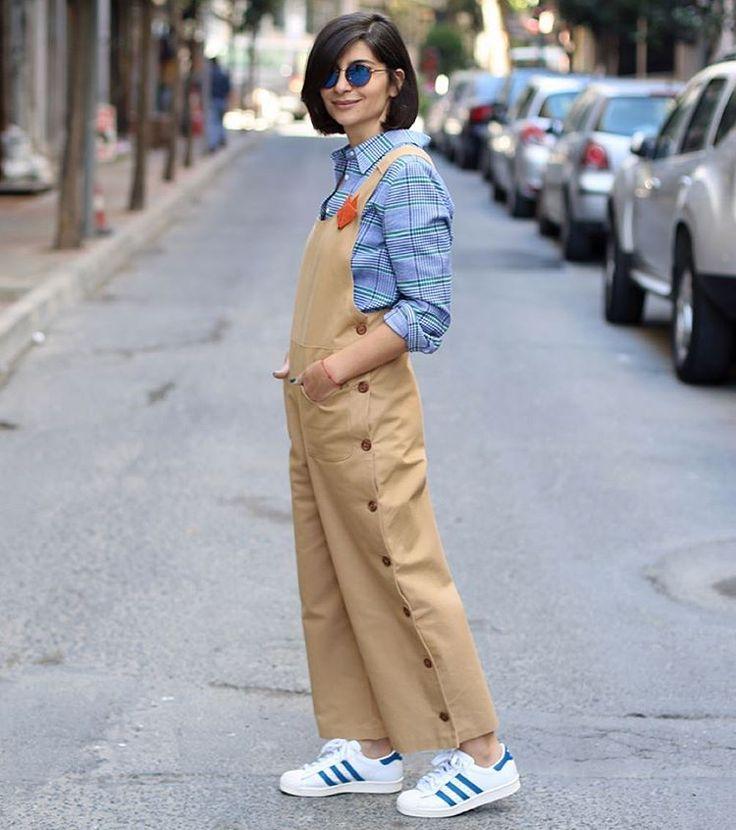 @iconjane'nin seçimi #BoynerFresh tulum eğlenceli düğme detaylarıyla çok tatlı gözüküyor.  #boyner #moda #fashion #ootd #iconjane #blogger
