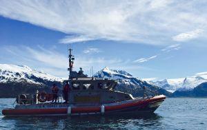 Coast Guard searching for three men overdue near Whittier, Alaska